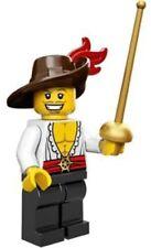 BN Genuine Lego minifigure swashbuckler 71007 Series 12 mini figure pirate hat