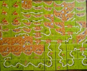 ADD ON SPARE 12 RANDOM TILES CARCASSONNE BASE New Edition Board Game BRAND NEW