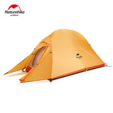 Naturehike Ultralight Silicone Double Layer Camping Tent Camping Gear 1 Persons