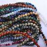 Wholesale Natural Round Healing Gem Spacer Stone Beads Bulk Making 4/6/8/10 MM H
