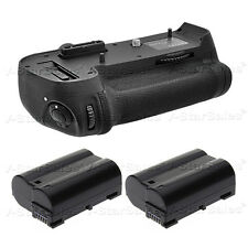 Nikon MB-D12 Replacement Grip for Nikon D800 + 2X EN-EL15 Replacement Batteries