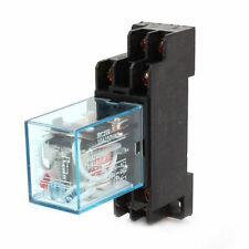 10A 250V AC MAINS RELAY LY2NJ GENERAL PURPOSE 8 PIN DPDT WITH SOCKET IEC255