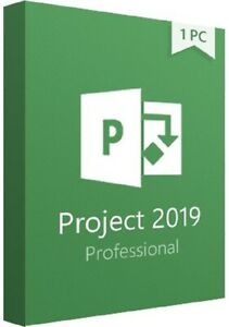 Project 2019 Professional - [Genuine, Retail 1PC]