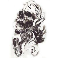 Skull Einmal Tattoo Totenkopf Indianer Temporary Temporäre Tattoo Body Sticker