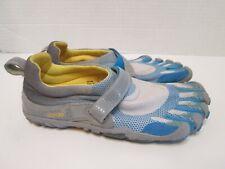 Vibram FiveFingers Bikila Womens Sz 38 US 7-7.5 W346 Blue Gray Barefoot Running