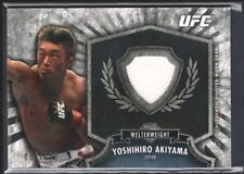 YOSHIHIRO AKIYAMA 2012 TOPPS UFC BLOODLINES FIGHTER RELIC GEAR PATCH SP /188 $15