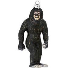 Bigfoot Christmas Tree Ornament Glass Xmas Funny Holiday Sasquatch Yeti