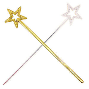 Sequin Wand Star Fairy Cinderella Princess Handhelds Girls Great