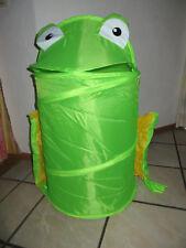 Pop Up Korb, Wäsche-/ Spielzeugtonne - Frosch - neu und OVP