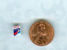 1/2 Half Inch Scale  Dollhouse Miniature  Band aids box