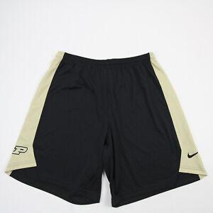 Purdue Boilermakers Nike Athletic Shorts Men's Black Used