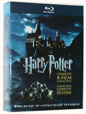 Harry Potter: Complete 8-Film Collection (Blu-ray, 2011, 8-Discs) NEW