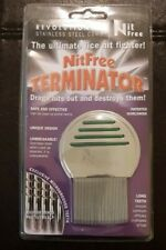 *ORIGINAL DESIGN* Nit Free Terminator Comb Rid Head Lice unisex instant results