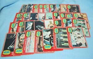 1977 STAR WARS Red Trading Cards 2 - 65 A