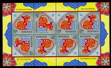 2020 Chinese Zodiac,Year of the Metal Rat/Mouse,Chinese New Year,Romania,Kb/Mnh