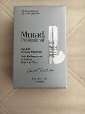 Murad Professional Eye Lift Firming Treatment .17 oz with 8 Pads NIB