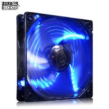 pccooler X6 12cm 120mm LED BLU A 4 pin PWM 1800 RPM PC ventola in custodia filo