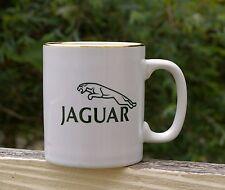 Jaguar Luxury Sports Car Green Logo Kiln Craft Coffee Mug Staffordshire England
