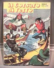 IL CORSARO DI FERRO N 5 IL SEGRETO DEGLI SPECCHI MEC 1976 Fumetti Ragazzi di e