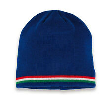 Bonnet bleu sport marque Target nation football ITALIE bande vert blanc rouge