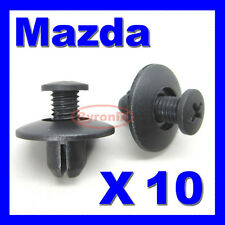 MAZDA RX7 FRONT WHEEL ARCH LINING SPLASH GUARD TRIM CLIPS RX8 COWL EXTERIOR