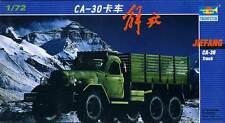 A tromba - Cinese LKW Jiefang CA-30 Camion Trasportatore 1:72 Modello Kit