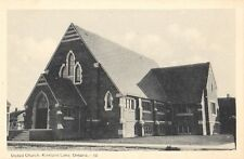 Kirkland Lake Ontario United Church - Litho - Unused - Excellent Condition