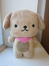 Brown Biscuit Dog Stuffed Animal Plush Doll Cartoon Soft Toy Cute Girl Kids Gift