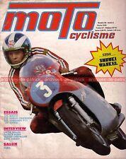MOTOCYCLISME 56 KAWASAKI F11 MAICO 125 HARLEY DAVIDSON TX ULH 1200 BENELLI 1974