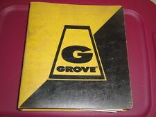 GROVE RT755 Crane Illustrated PARTS Manual  Cummins V555C 12/1984