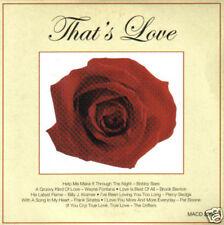 V/A - That's Love (UK 8 Trk CD Album) (Easy Listening)