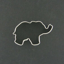 MINI ELEPHANT METAL COOKIE CUTTER ZOO JUNGLE ANIMAL THEMED PARTY STENCIL FONDANT