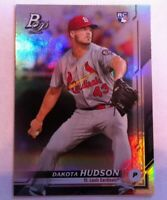2019 Bowman Platinum Dakota Hudson RC St. Louis Cardinals #27 MLB Baseball Card