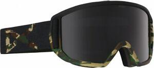 Anon Men's Relapse Snow Ski Goggle, Guerrilla Frame Dark Smoke Lens