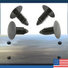 Set of 4 :Bumper Plugs Front License Plate Holes Cover, NEW. 6-7mm hole