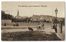 Scotland Millport The Garrison & Cathedral 1925 Vintage Postcard 3.5