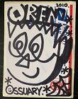 ORFN HAND DONE ORIGINAL GRAFFITI STICKER rare barry mcgee zo bags seen nyc 228