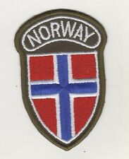 Uniform Sew-On Patch Patches Norway Norway