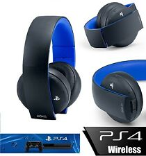 CUFFIE WIRELESS UFFICIALE SONY PLAYSTATION 4 2.0 STEREO HEADSET VIDEOGAMES PS4