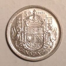 1955 Canada Elizabeth II 50 Cents