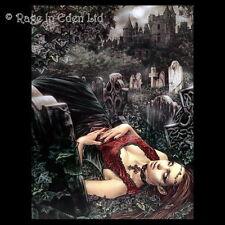 *LECHO DE MUERTE* Goth Fantasy Art 3D Print By Victoria Frances (39.5x29.5cm)