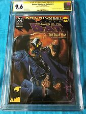 Batman: Shadow of the Bat #19 - DC - CGC SS 9.6 NM+ - Signed by Brian Stelfreeze