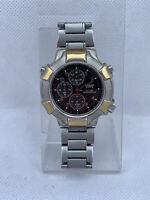 Casio Edifice EF-300 Chronograph Rare Wrist Watch  Quartz Date Day Vintage