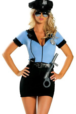 SEXY Halloween COSTUME Womens POLICE Officer COP Naughty Adult Cosplay ROMA XL
