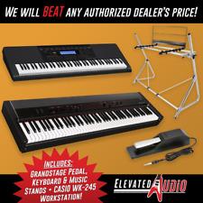 KORG Grandstage 88-Key Stage Piano + CASIO WK-245 76-Key Workstation, BRAND NEW!