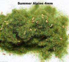 WWS Summer Alpine Static Grass 4mm 10g G,O,HO/OO,TT,N Scenery Model Basing