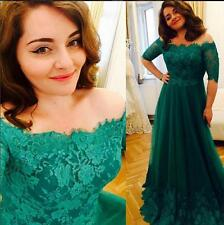 Long Prom Formal Ball Gown Party Cocktail Applqiued Evening Dress Custom Made