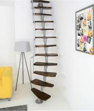 Minka Monaco Walnuss- Space Saver Spiral- Loft Staircase Kit