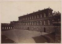 Florence Firenze Palais Pitti Italia Vintage Albume D'Uovo Ca 1880