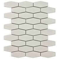 Classic Hexagon Beige Porcelain Mosaic Tile Backsplash Kitchen Wall MTO0248